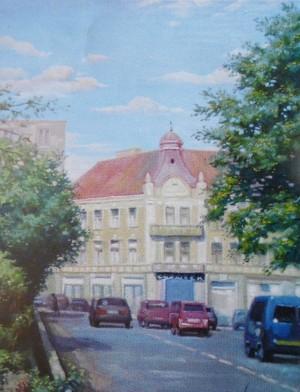 Площа Петефі, 2005, п.о., 65х50