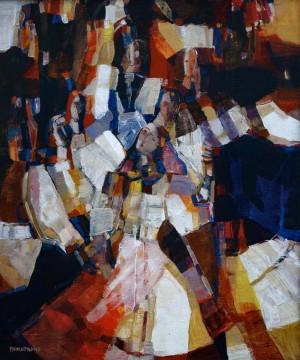 Dance, 1995, oil on canvas, 60x50