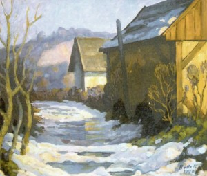 March, 2001, oil on cardboard, 60х70