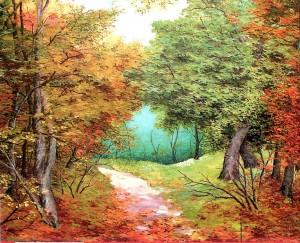 'Autumn Colours', 1997, oil on canvas, 70x90