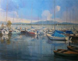 'On Balaton Lake'