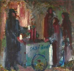 Газ-вода, 2005, п.о., 70х70