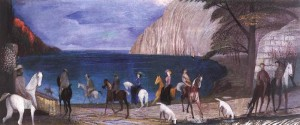 Horse Ride by the Sea 1909