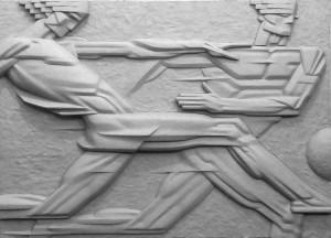 Movement, 2017, polyurethane, 60x85