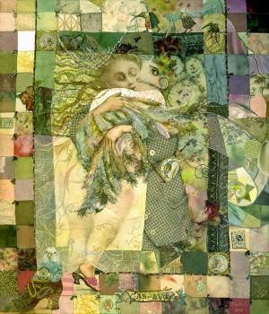 Leda And Swan, 2006, 81x86