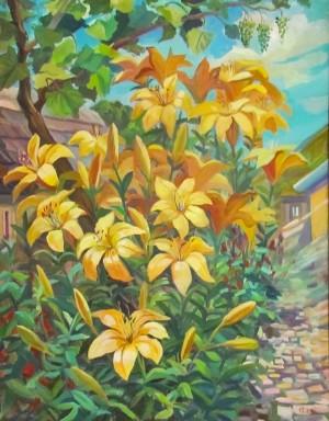 R. Dorozhnikova 'Lilies'