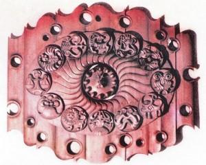 Декоративний годинник «Знаки зодіаку»