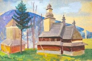 Коцка А.. Церква в с. Колочава, 1970