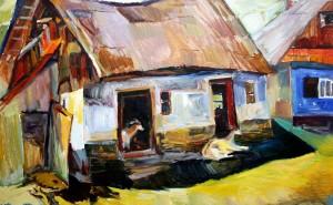 Обшаря, 2005, кар.о., 50 x 80