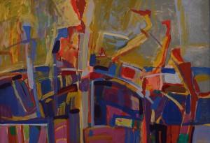 Поливанки, 2014, п.акр., 50х70