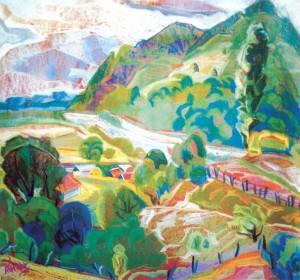 Свалявська долина, 1997, п.п., 45х45