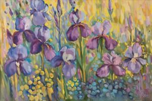 M. Myrtryk Irises I