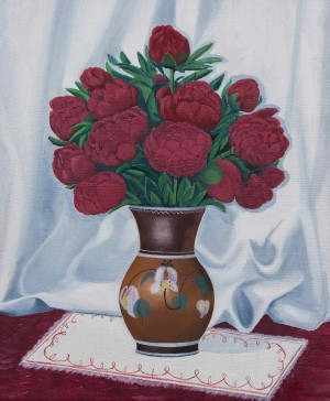 Uzhhorod. Gods Roses , oil on canvas