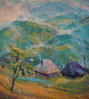 Rainy Morning, 1976-1978, oil on canvas