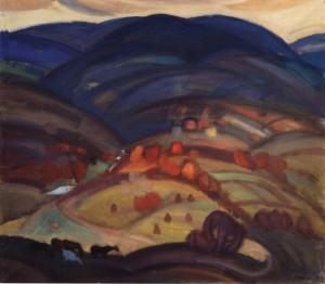 Міжгірська осінь, 1982, п.о. 70х75