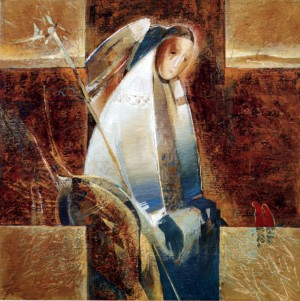 Ангел України, 1994, п.о., 90х94