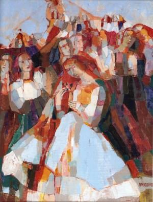 Dance, 2008, oil on canvas, 65x50