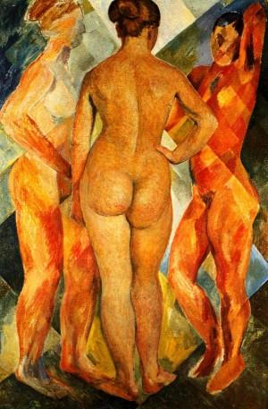 'Три грації', 1959, 110х72.5