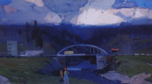 Міст, 1971, п.о. 60х104