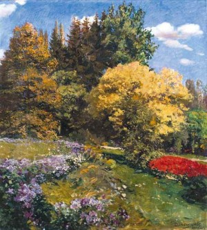 A Part Of The Garden, 1935, oil on canvas, 110x99.3