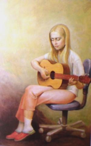 Портрет Ілони, 2004, п.о., 65х50