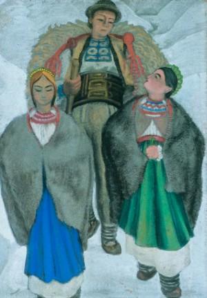 Молоді, 1941, кар.темп. 104х70