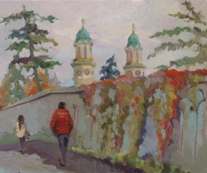 Maryna Riepnova. Cityscape. 2016