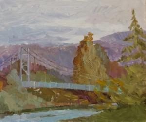 Maryna Riepnova. Landscape. 2016