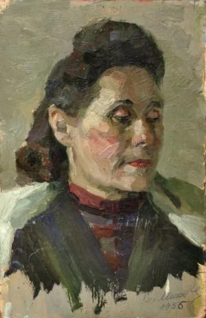Жінка (Етюд), к.о. 38х25