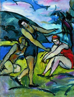 The bathers, 1930