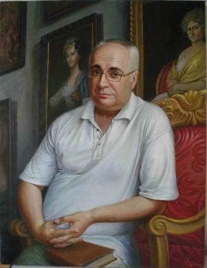 Портрет професора і письменника Олександра Торохтіна, 2003, п.о., 65х50