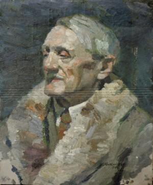 Етюд Береца, 1954, к.о. 40х31