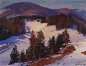 На перевалі, 1979, п.о. 80х100