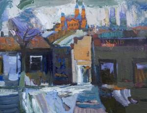 Ужгород, 2008, п.о., 50х60