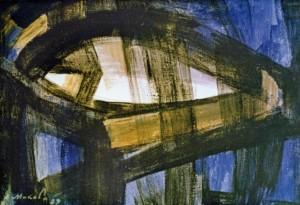 До світла, 1989, п.а. 38х55