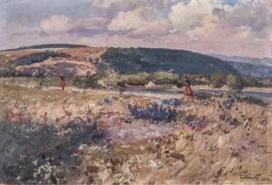 Summer, 1962, oil on cardboard, 47,5х70