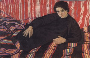 Oksana, 1962, oil on canvas, 92x60