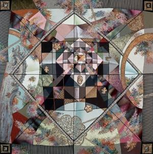 Магічний квадрат, 2005, 95х95