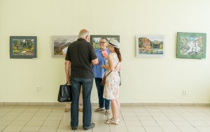 "VLADYSLAV HANZEL ""CALLED FRIENDS"" FOR THE ANNIVERSARY EXHIBITION OF PLEIN AIR WORKS"