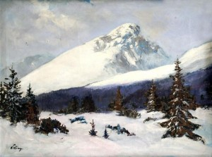 'Kryvan Mountain', 1935, oil on canvas, 59x77.jpg