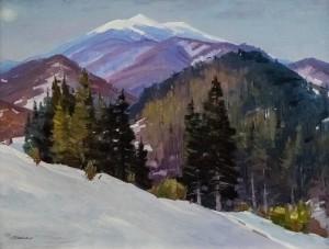A. Brenzovych 'Winter 2017', 2017