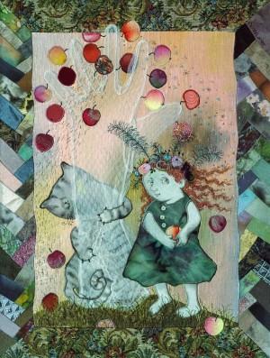 Люда і Шульц, 2000, 45х34