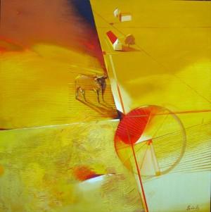Краєвид, 2011, п.акр., 85х85