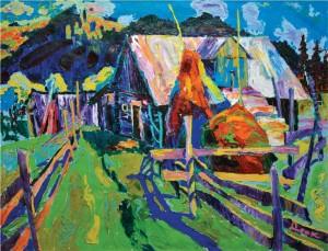 'Summer Day', 2007, oil on canvas, 100х130
