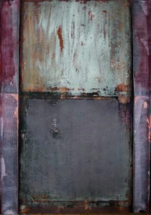Ліфт, 2015, акрил, 100х70