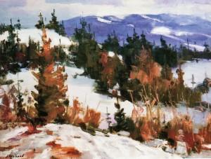 Зима, 2004, 70х95
