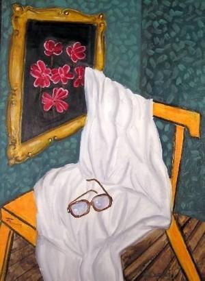 Натюрморт з окулярами