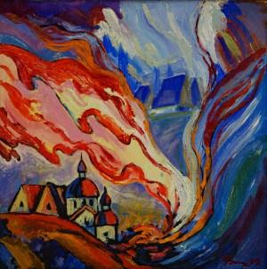 Великодній вогонь, 1992