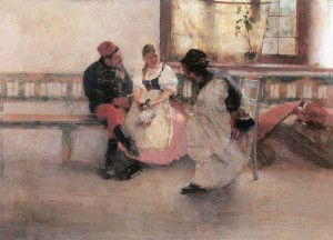 Between Two Fires, 1891