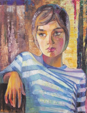Vitusia il on canvas, 1973